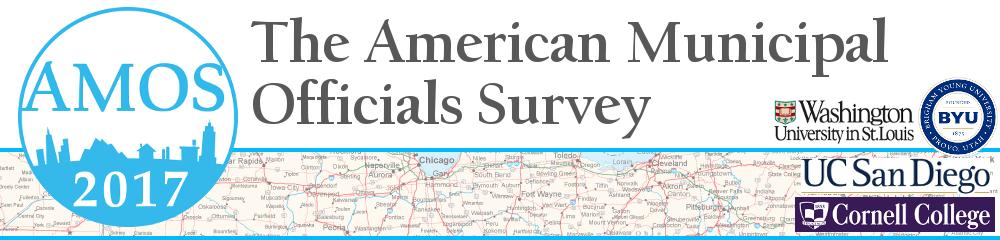 The American Municipal Officials Survey